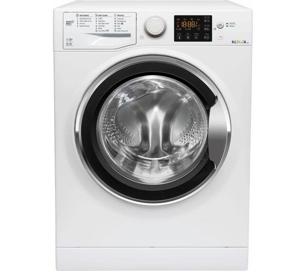 HOTPOINT Ultima WDG 964S UK 9 kg Washer Dryer - White, White