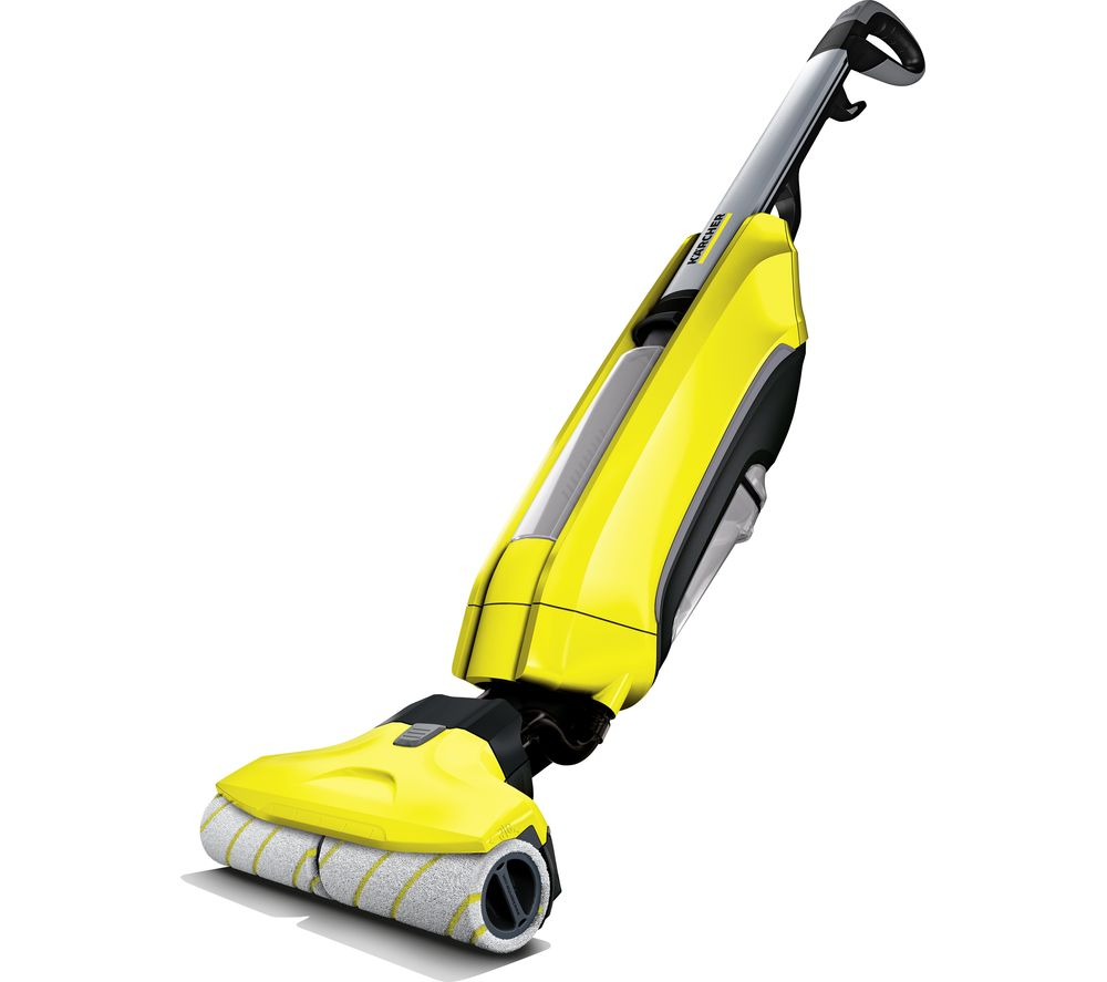 KARCHER FC 5 Upright Bagless Floor Cleaner - Yellow, Yellow