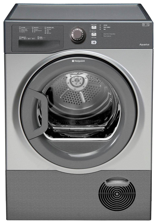 Hotpoint TCFS73BGGUK 7KG Condenser Tumble Dryer - Graphite