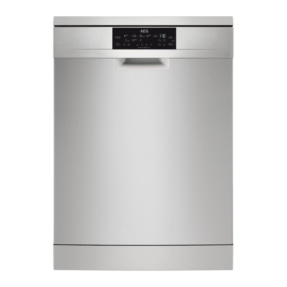 AEG FFE83700PM Full-Size Dishwasher - Stainless Steel, Stainless Steel